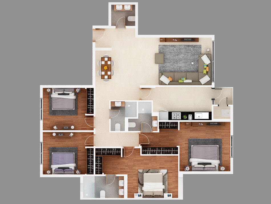 plan appartement senegal